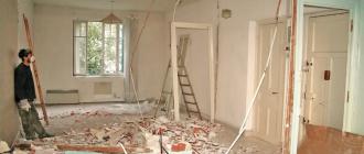 Необходимость выполнения ремонта в новостройке