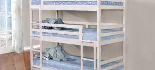 Популярные модели кроватей для троих детей, полезные дополнения
