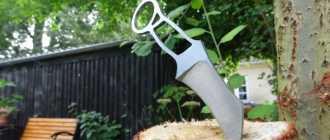 Самодельный нож керамбит из куска диска от плуга