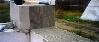 Расход раствора на 1м3 кладки пеноблоков: видео-инструкция по монтажу своими руками, фото