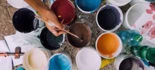 Растворитель для краски: расход продукции для алкидной и полиуретановой краски на 1 кг, варианты для