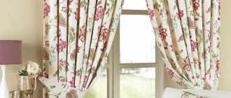 Подбираем шторы с узором для интерьера