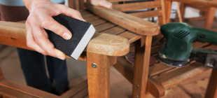 Снятие лака с мебели