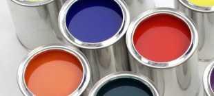 Основные виды, свойства и применение краски марки МА-15