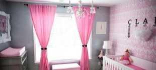 Розовые обои: возможности оформления, сочетание цветов и правила подбора занавесок
