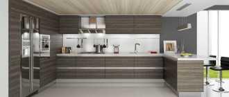 О кухне в стиле модерн: кухонные гарнитуры и планировка