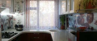 Преимущества стола-подоконника на кухне, советы по его установке